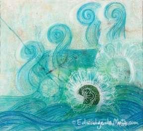 Le dragon d'eau - papier